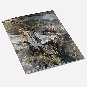 Stream Icicles A6 Notebook