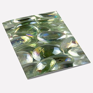 view Glass Pebbles A6 Notebook details