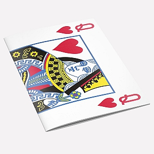 The Queen of Hearts Notebook