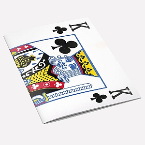 view The King of Clubs A6 Notebook details