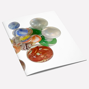 Marbles A6 Notebook