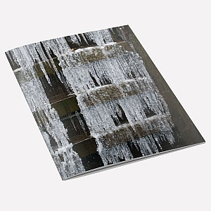 Lock Gate Icicles A6 Notebook